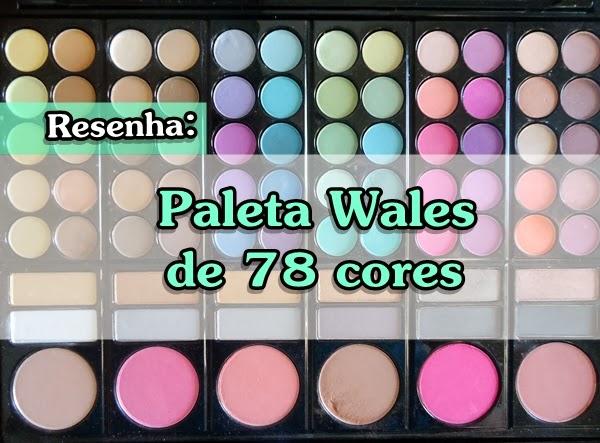 paleta de sombras e blush modelo 1