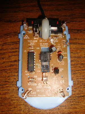 Mouse Optico placa