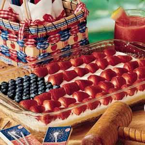 Patriotic Dessert Recipe
