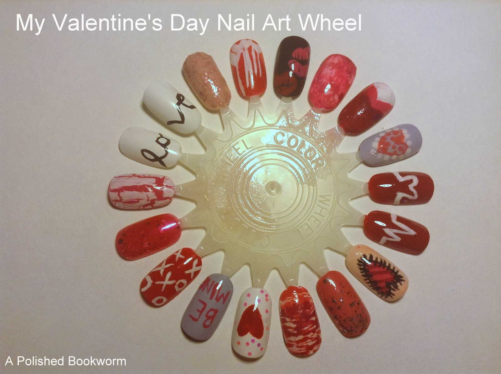 18 Nail Art Ideas For Valentines Day