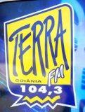 ouvir a Rádio Terra FM 104,3 ao vivo e online Goiania