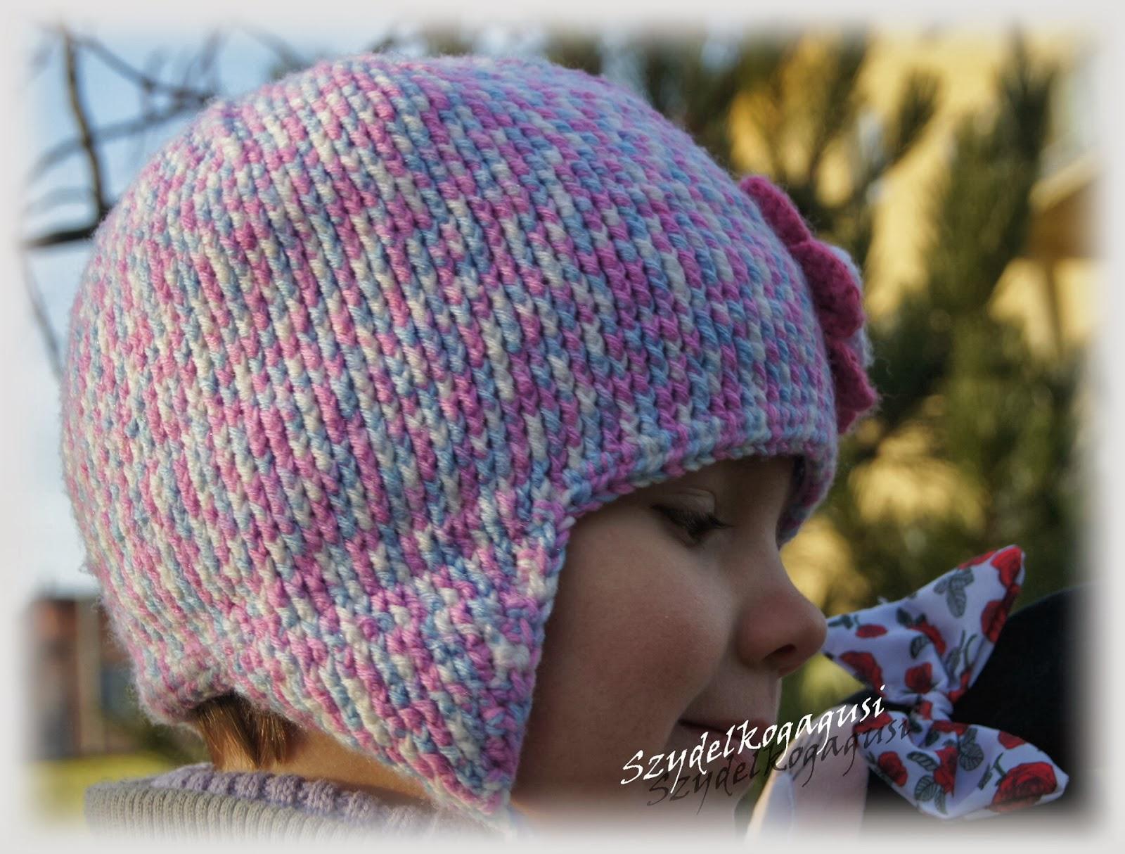 szydełkowa czapka na zimę
