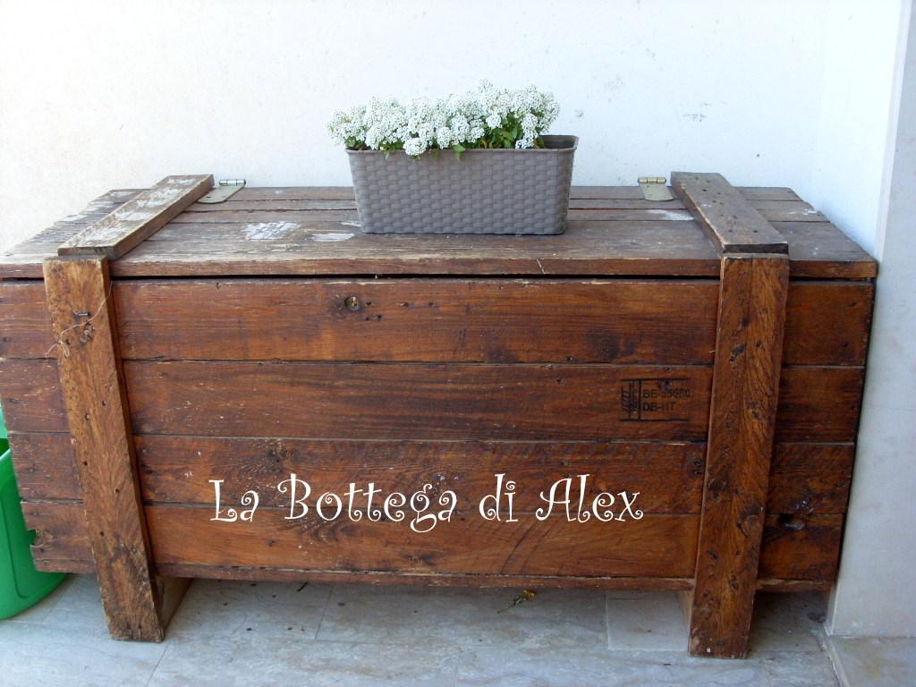 La bottega di alex ma la primavera for Cassapanca per balcone