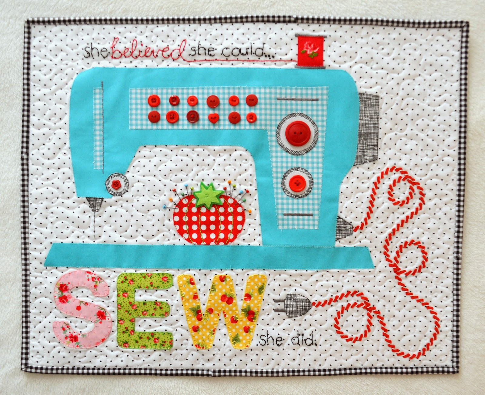 Craft Sew Create: Blogger s Quilt Festival Spring 2014 - Mini Quilt Catergory
