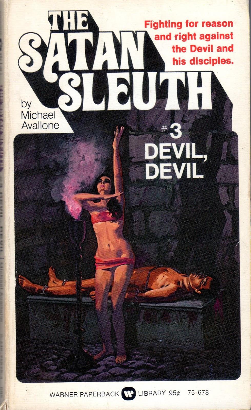 The Satan Sleuth # 2 Devil. Devil by Michael Avallone