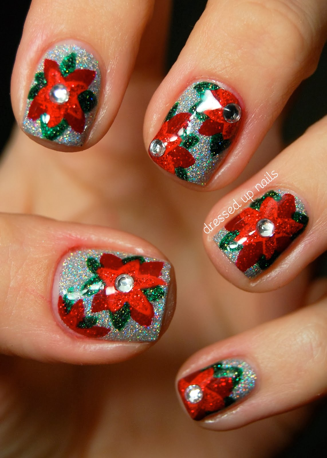 Maci Bookout Awesome Holiday Nail Art