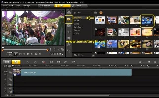 Membuat Intro Video Dengan Cepat