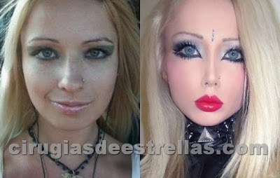 barbie humana antes y despues