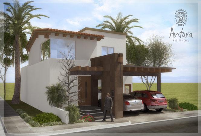 Fachadas de casas modernas fachada contempor nea mexicana for Planos de casas modernas mexicanas
