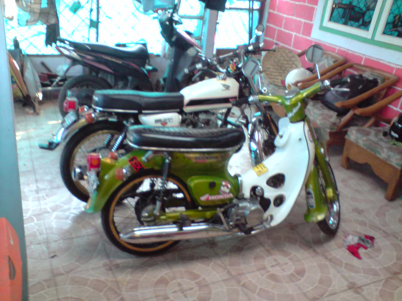 Modifikasi Motor Yamaha Rx King 2004