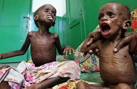 Gladna djeca u somaliji
