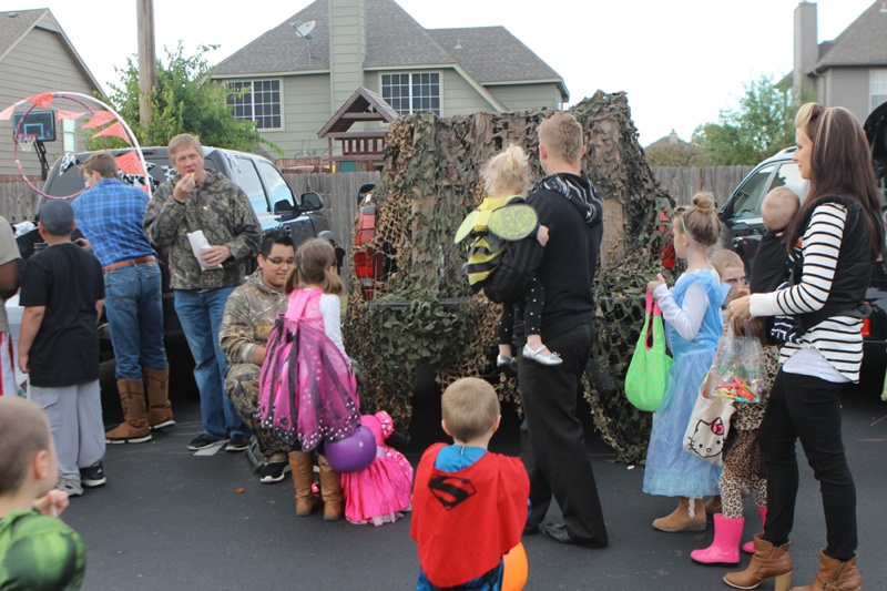 Trunk or Treat Idea Duck Blind