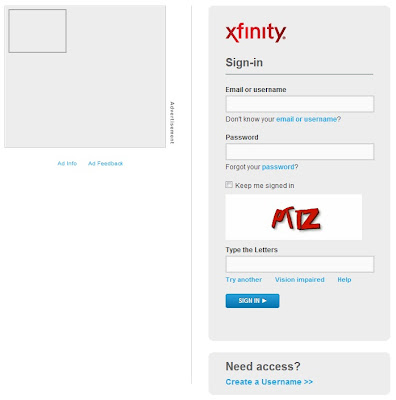 Comcast Login