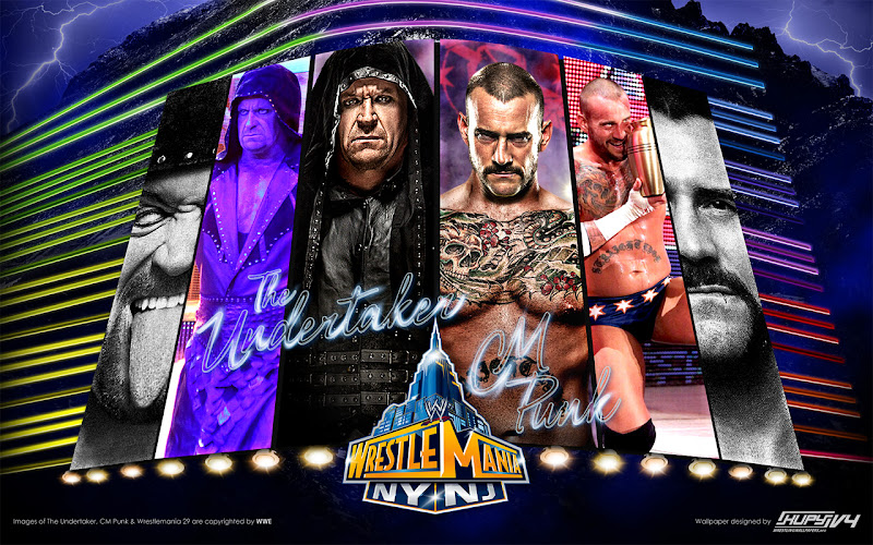 CM PUNK HYPES HIS MATCH WITH THE UNDERTAKER AT WRESTLEMANIA 29 title=