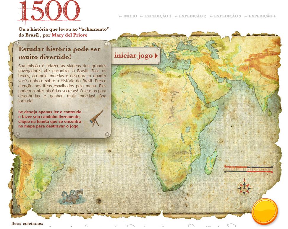 1500: o caminho para o descobrimento do Brasil