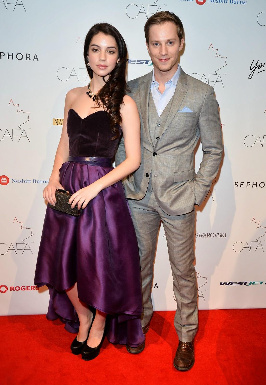 cafa, canadian arts ans fashion awards, adelaide kane, red carpet, teen wolf, reign