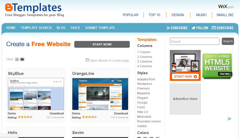 free html blog templates - download free blogger responsive templates nepali