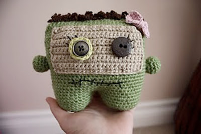 free crochet pattern amigurumi monster