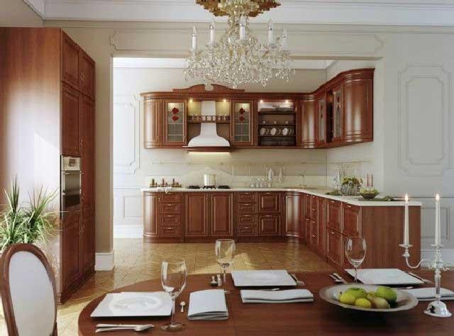 desain dapur rumah klasik
