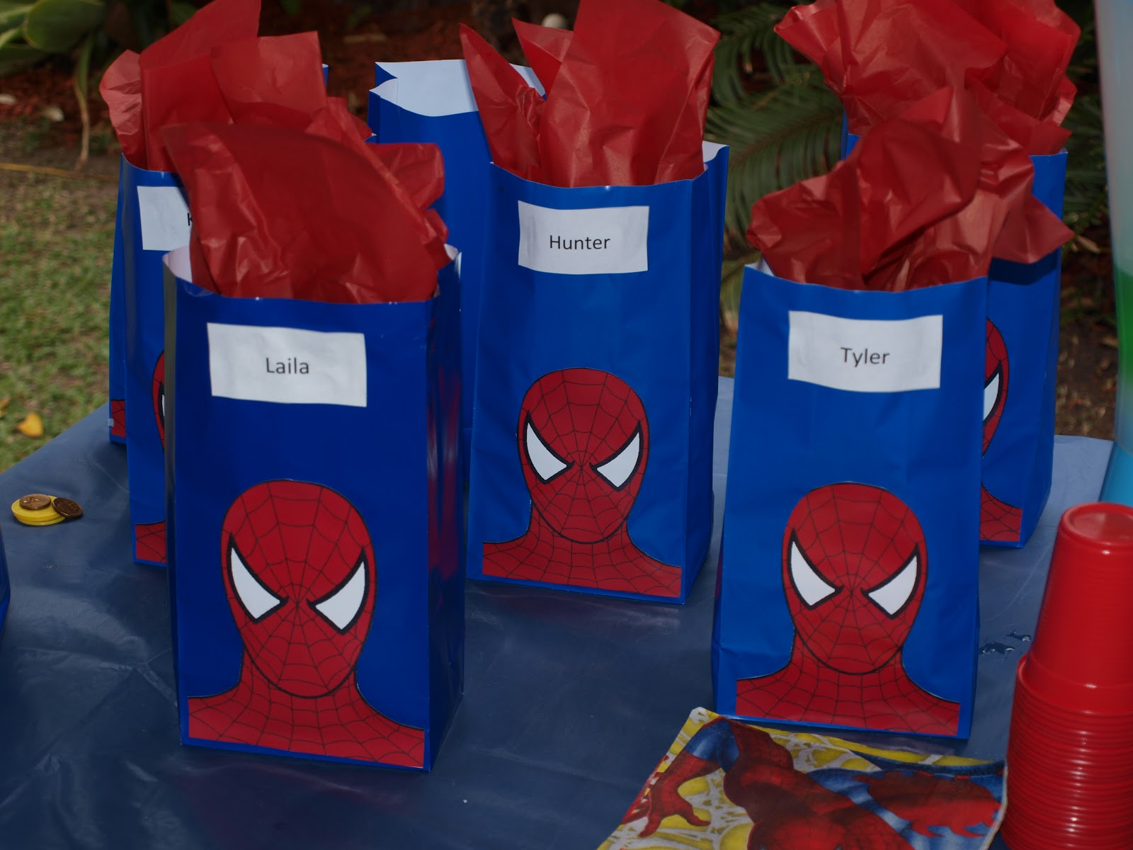 Forever Busy Mum Spiderman Party For 5 Year Old
