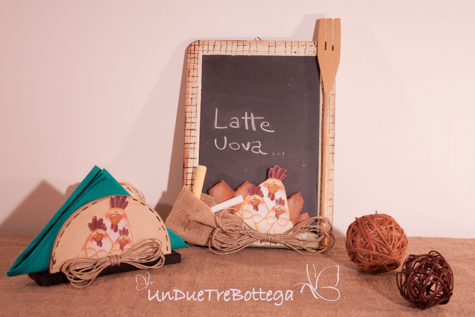 UnDueTre Bottega: LAVAGNETTE COUNTRY