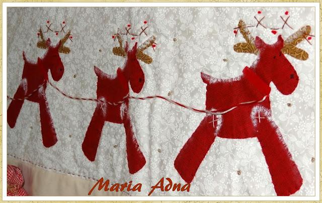 Painel de natal, Panô de natal, Apliquê Natal, Maria Adna Ateliê, Maria Adna, Patchwork, bolsas e afins, Panôs, Decoração de Natal