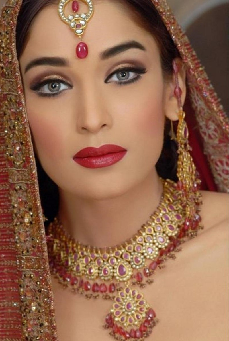 Beautiful Wedding Makeup Pictures : Inspiration mariage: Le Moyen Orient Etre Radieuse