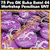 PIN MURAH 75 Pcs Gantungan Kunci Workshop Penulisan UNY