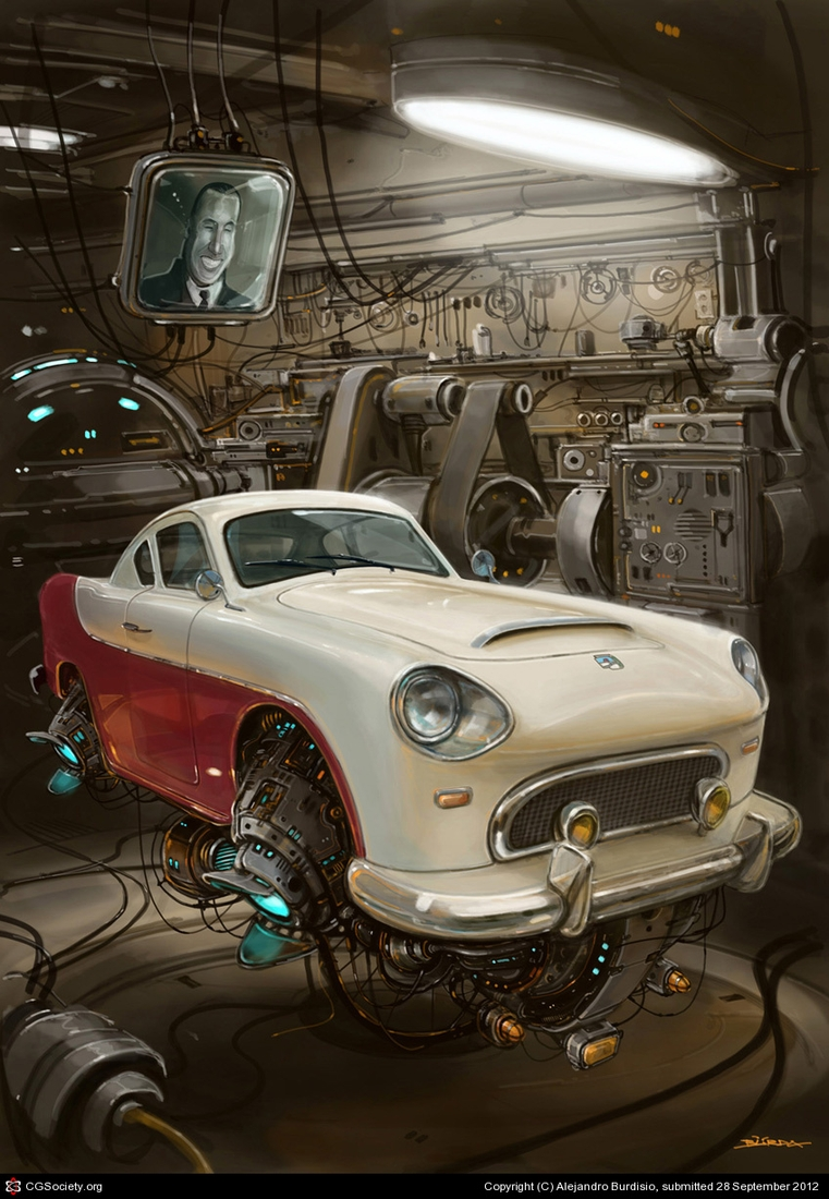 06-El-Justicialista-Gran-Sport-Alejandro-Burdisio-Fantasy-Illustrations-in-the-Scrap-Metal-Universe-www-designstack-co