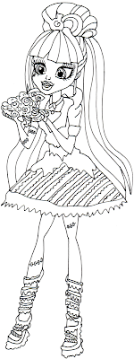 Free Spider Girl Coloring Pages