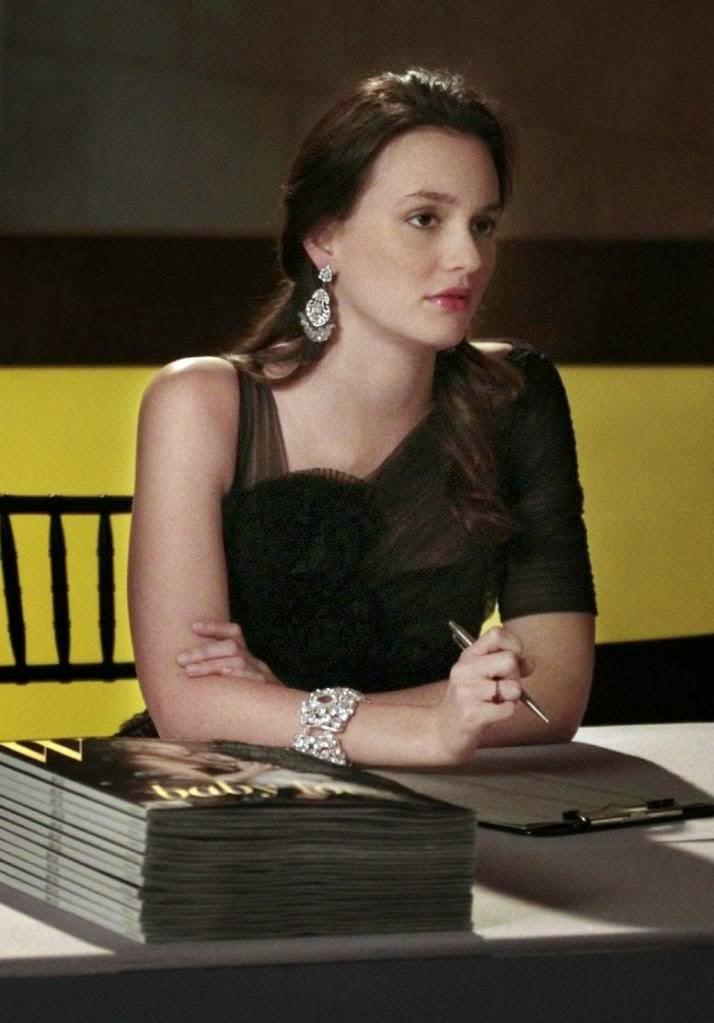 Fashion Finder Blair Waldorfs Bcbg Rosette Dress On Gossip Girl