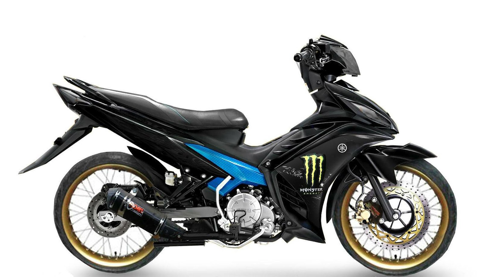 Modifikasi Jupiter Mx Livery