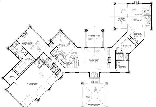 Planos casas modernas planos de casa de campo for Modelos de casas de campo de una planta