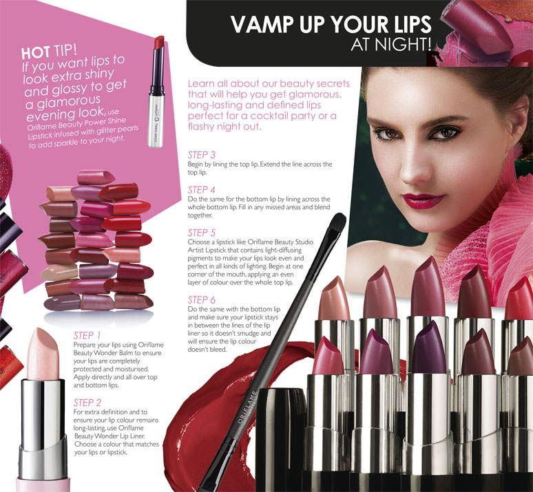 oriflame august 2013 catalogue