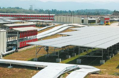 Solar Farm Malaysia Cypark's Solar Farm Image by