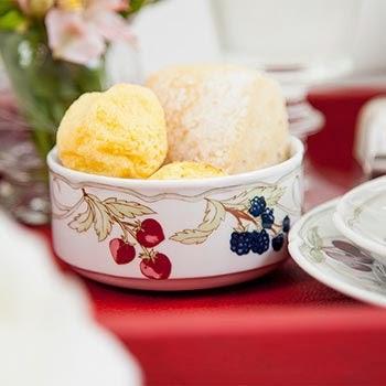 Theodora Home coleção Les Fruits mesa café da manha bowl