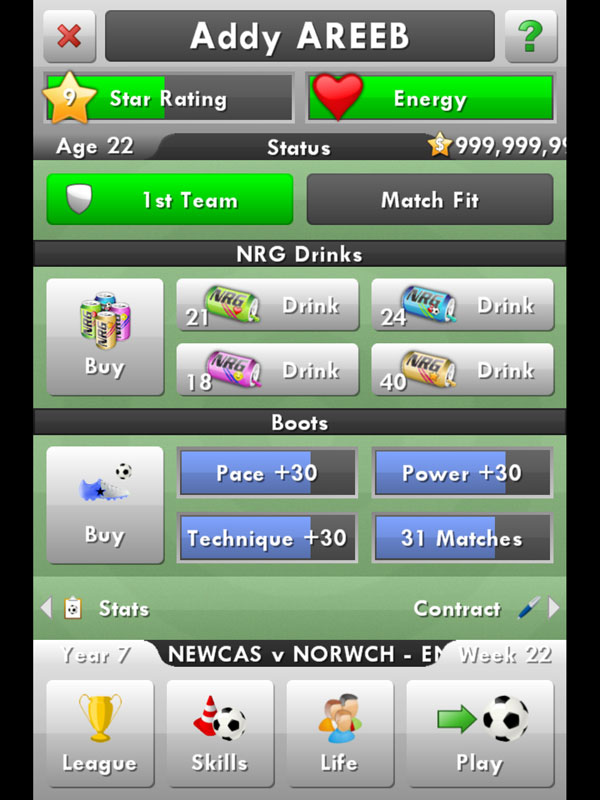 New star soccer hacked unblocked ios iphone games hack