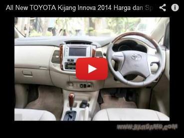 All New Toyota Kijang Innova 2014 Harga Dan Spesifikasi Terbaru 2013