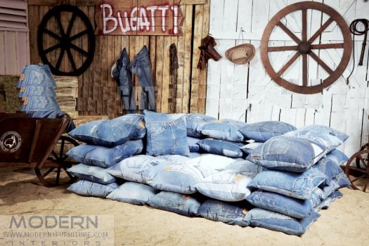Nice You Can Also Purchase Denim That Is Over Done. It Isnu0027t Only Available In  The DIY Market. Just Check Out This Sofa. Barn Decor For Sure!