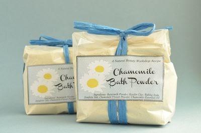how to make chamomile powder
