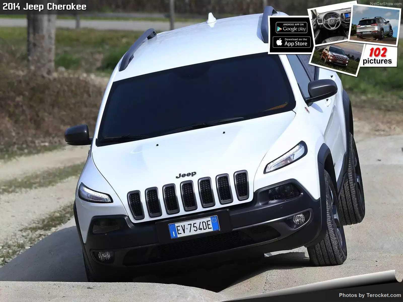 Hình ảnh xe ô tô Jeep Cherokee EU-Version 2014 & nội ngoại thất