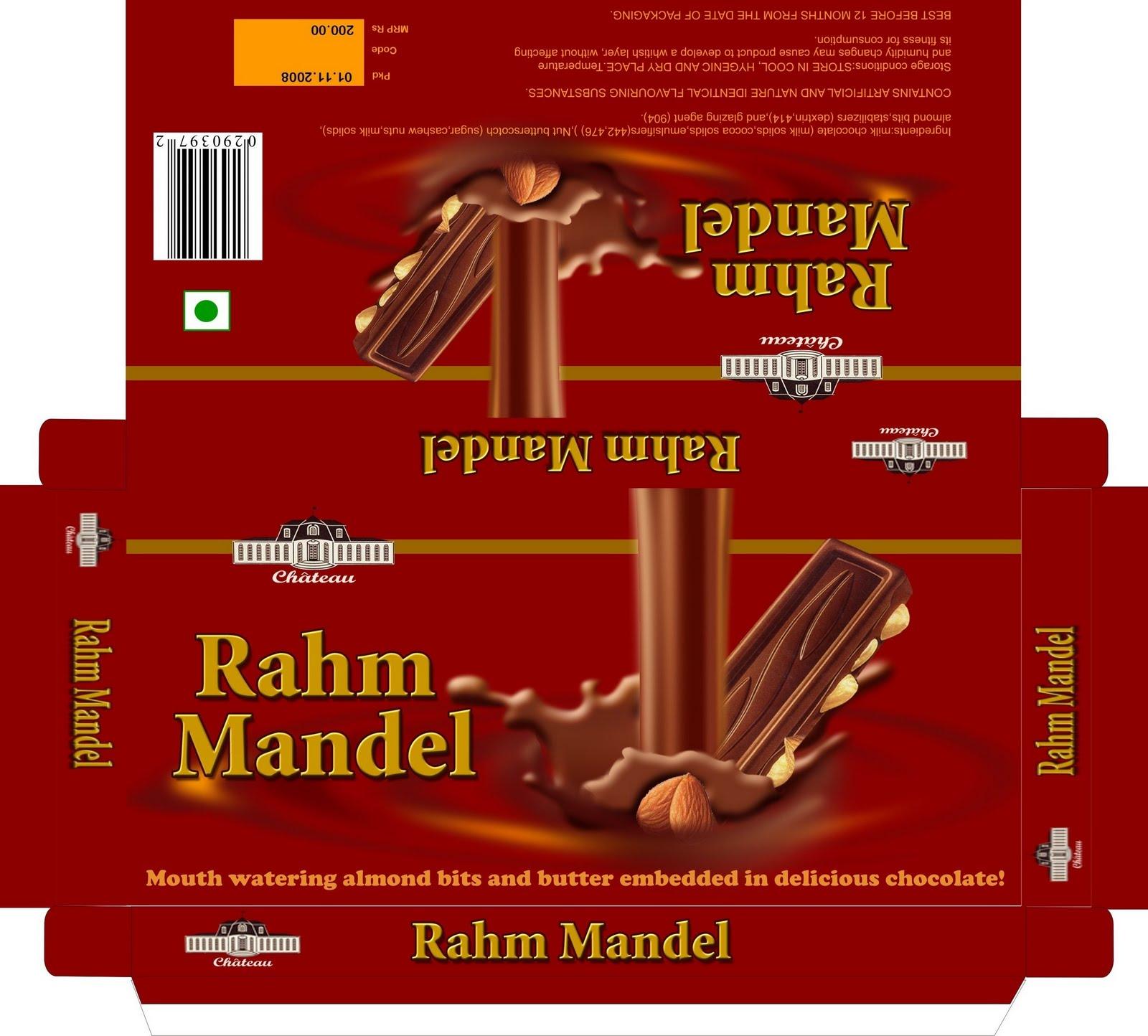 Chocolate Box Packaging Design