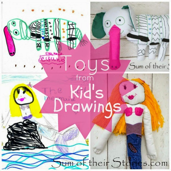 Turn childrens drawings into toys