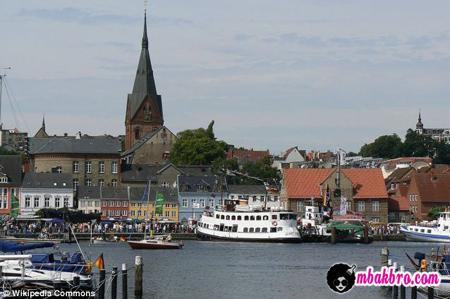 kota Flensburg, Jerman