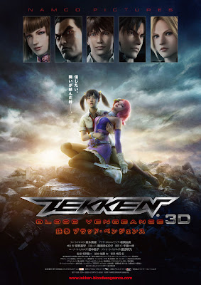 Watch Tekken: Blood Vengeance 2011 BRRip Japanese Movie Online | Tekken: Blood Vengeance 2011 Japanese Movie Poster