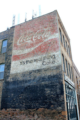 ghost sign coke