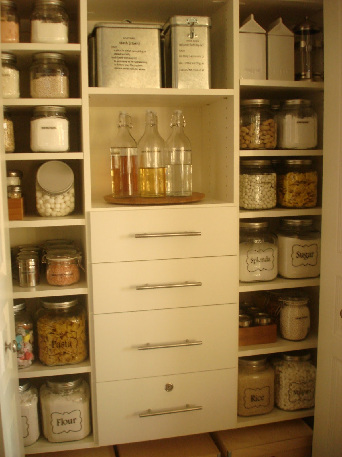 Loseven dining room and pantry for Kitchen closet