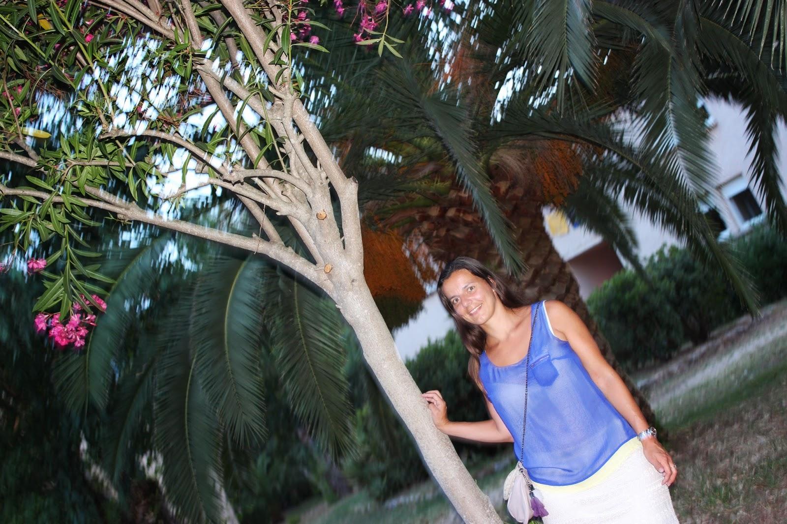 look de vacances à Calvi - Charlise