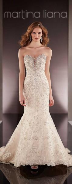 Divinos vestidos de novias   Colección Martina Liana Spring 2016