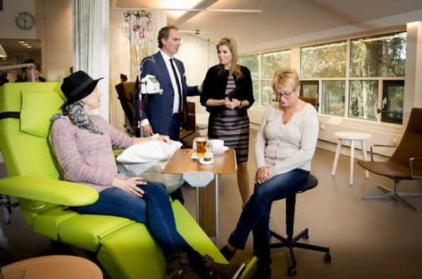 Queen Maxima Visited Alexander Monro Breast Cancer Hospital
